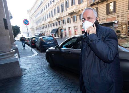 Protocolli Covid: sentenza Figc, sette mesi di stop a Lotito