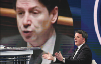 Renzi boccia il Recovery