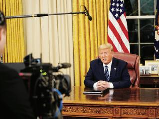 Trump passa al silenzio