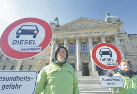 Addio alle auto diesel