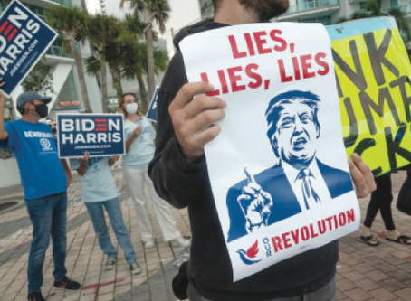 Le 20mila bugie di Trump