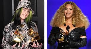 Grammy: Beyoncé fa la storia, Billie Eilish disco dell'anno