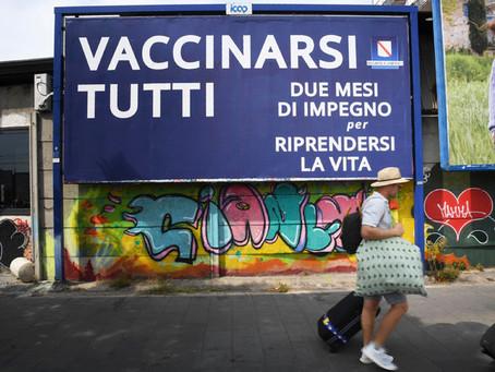 Vaccini: in 10 milioni senza la prima dose, stabile curva dei dati
