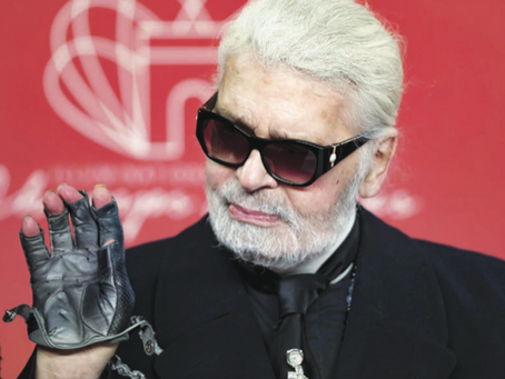 Addio a Karl Lagerfield