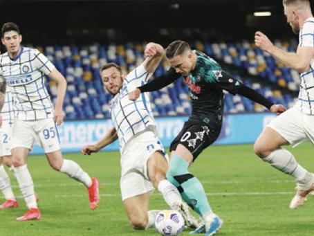 Il Napoli ferma l'Inter