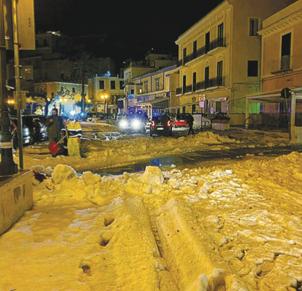 L'Italia investita da neve e gelo