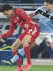 Il Bayern asfalta la Lazio