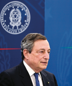 Recovery, Draghi stringe