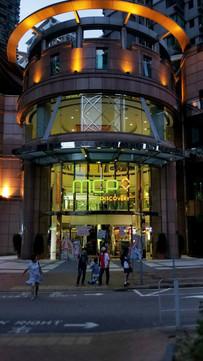 傍晚的新都城中心三期入口