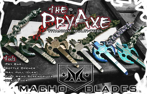 The PryAxe - 1/4 Thick