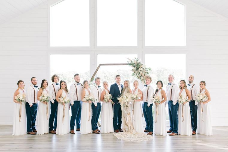Shayne + Zac | Bridal Party