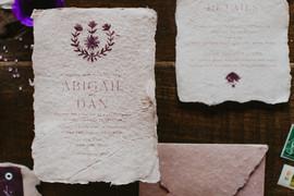 Abigail + Dan | Invitation Suite