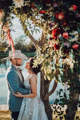 Ashley + Corey | Bride + Groom Portrait