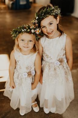 Kristin + Tyler | Flower Girls
