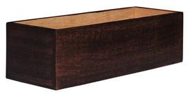 "12"" Rectangular Wooden Planter"