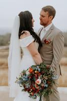Julia + Cole | Bride + Groom Portrait