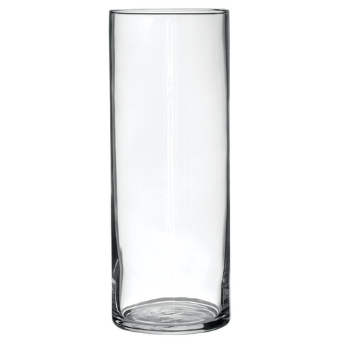 Clear Cylinder Bouquet Vase