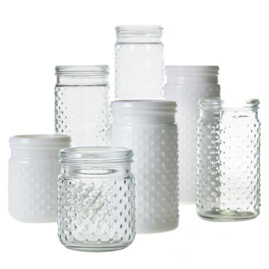 Hobnail Jar Collection