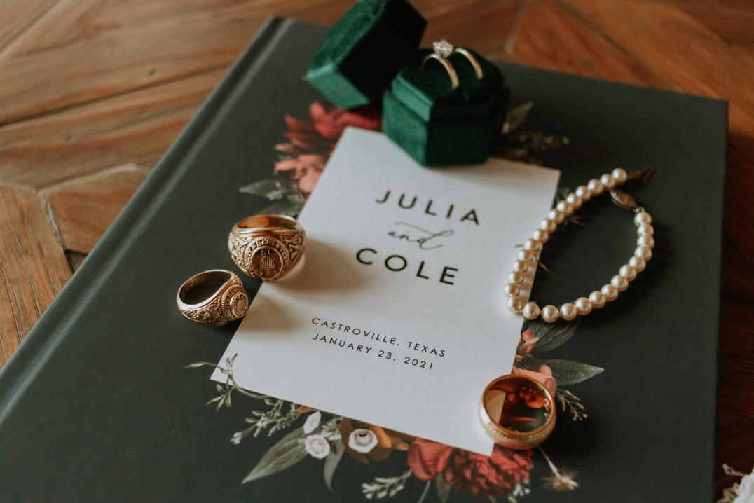 Julia + Cole | Details