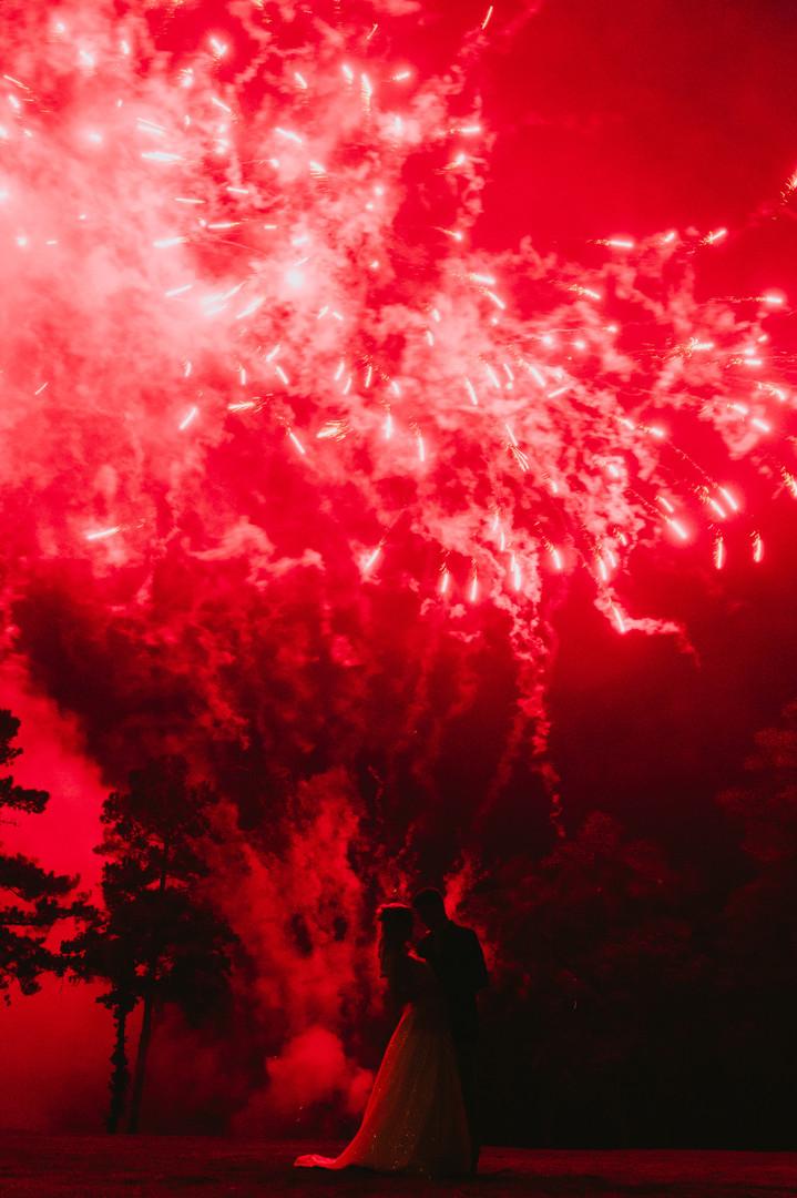 Abigail + Dan | Fireworks