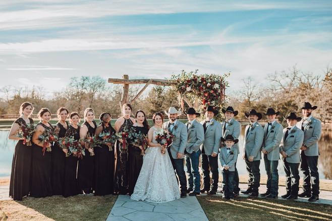 Ashley + Corey | Bridal Party
