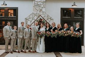 Julia + Cole | Bridal Party
