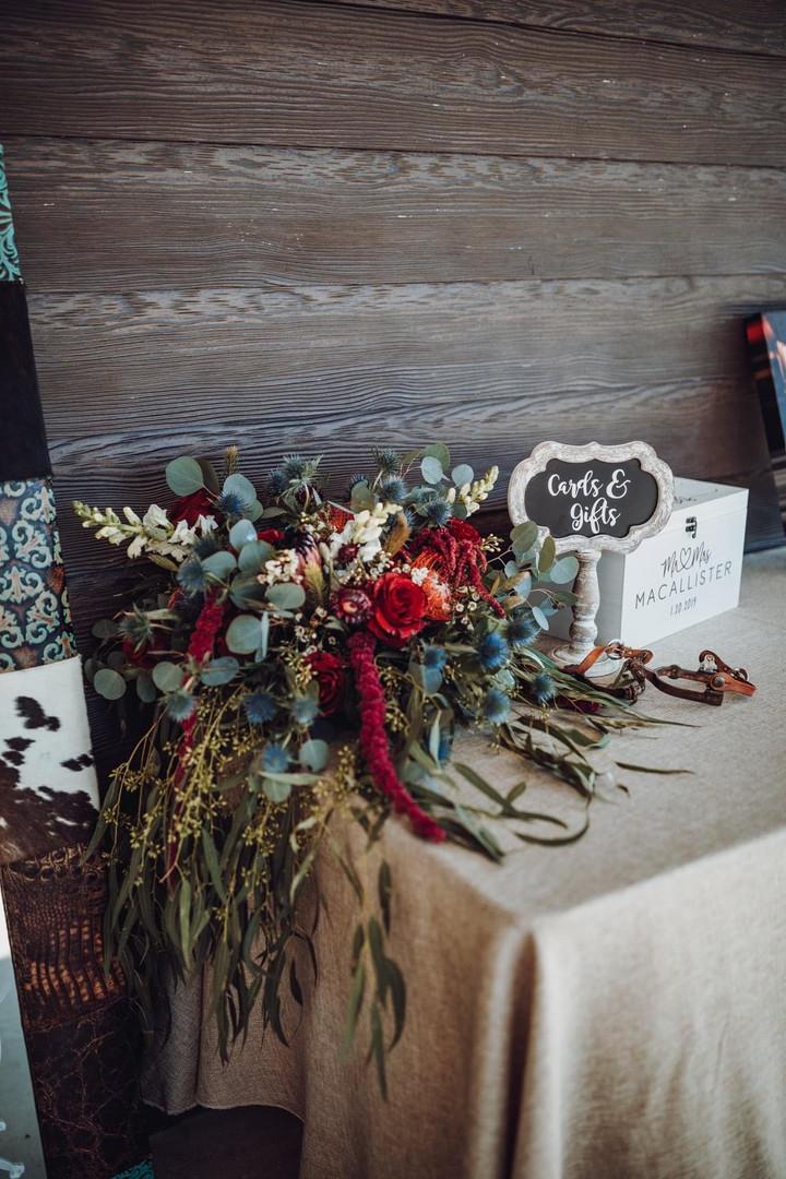 Ashley + Corey | Gift Table