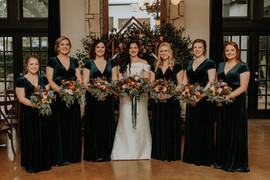 Julia + Cole | Bridesmaids