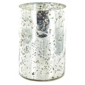 Silver Mercury Vase
