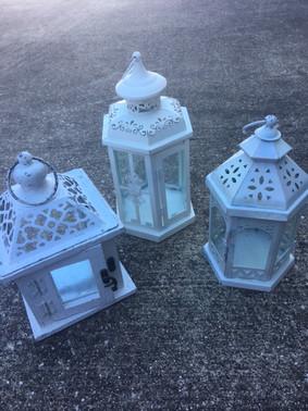 Mixed White Lanterns