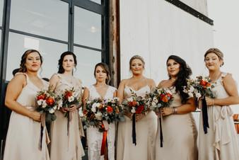 Kristin + Tyler | Bridesmaids