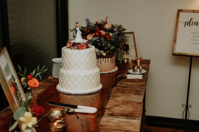 Julia + Cole | Cake