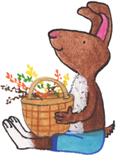 illustration-rabbit-sitting-with-basket_
