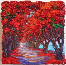Flame Tree Path