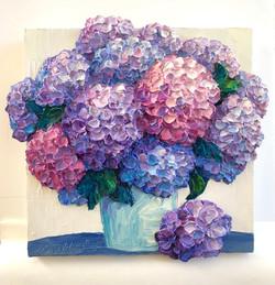 Lush Hydrangeas for Kathleen