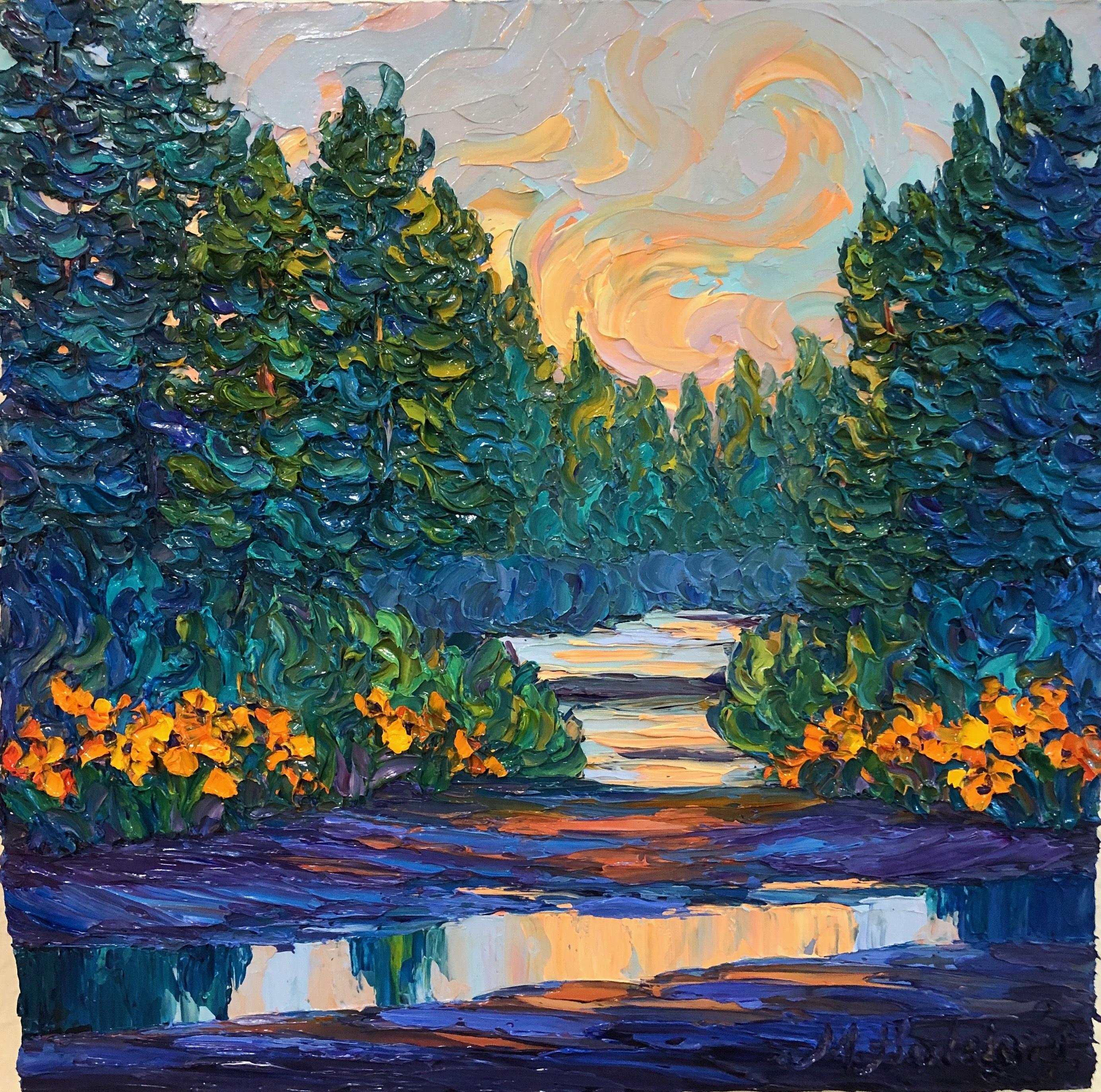Slate River Sunset