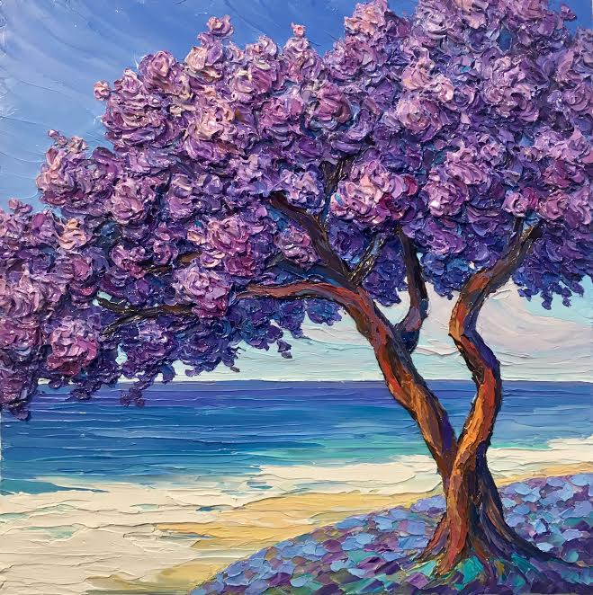 Jacaranda by the Beach