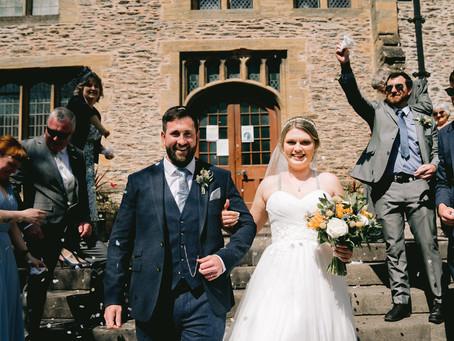 An Intimate Somerset Spring wedding