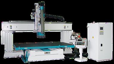 Static Column Nesting Table CNC Machining Center