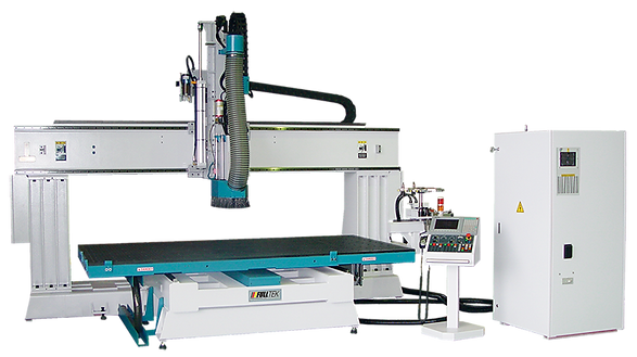 Static Column Nesting Table CNC Machining CenterSAH-5121