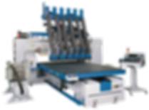 Static Column Nesting  Table CNC Machining Center