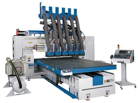 Static Column Nesting Table CNC Machining CenterSMV-6106