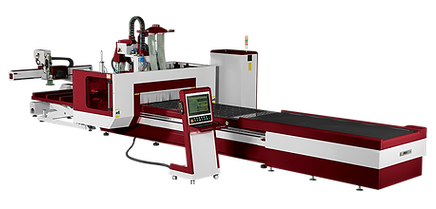 Moving Bridge & Nesting Table CNC machining center