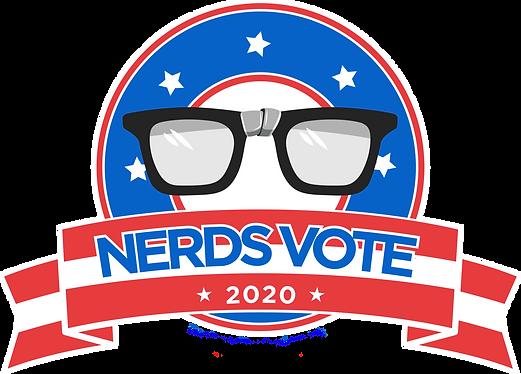 NerdsVote 2020 Logo