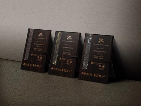 TAID 客製化木質獎牌