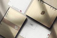 客製化木質筆記本