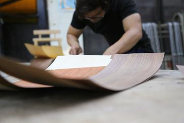 木質肌理技術加工