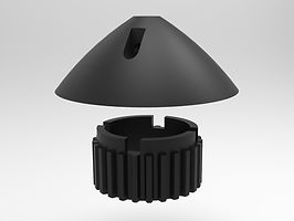 Autohelm ST3000 3000 belt drive cone gear sproket