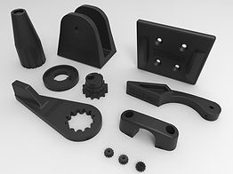 Replacement parts for Autohelm and Raymarine autopilots with levers, brackets, gears and clamps