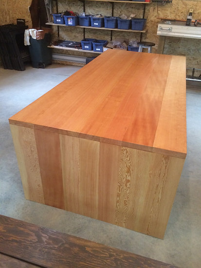 Fine Wood Meeting Table